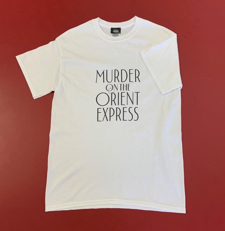 アガサ・クリスティーの生誕130周年記念Tシャツ