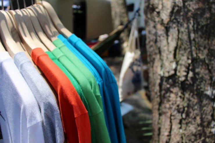 企業様のイベントに! オリジナルデザインのチームTシャツを