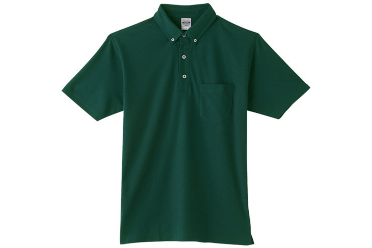 Printstar 4.9オンス ボタンダウンポロシャツ